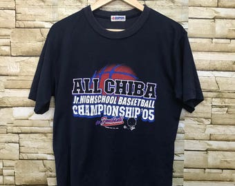 All Chiba jr. Highschool Basketball Champion Sportswear T Shirt