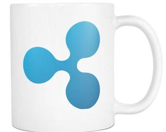 Ripple XRP Cryptocurrency Coffee Mug