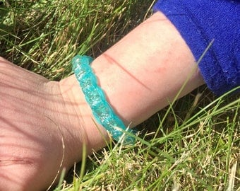 Star Aquamarine Bracelet