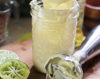 Mason Jar Mayonnaise