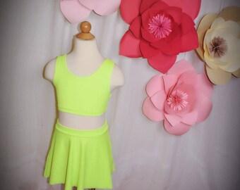 Dancing Skirt Neon