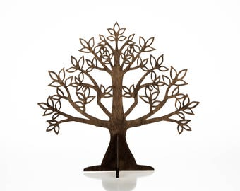 Jewelry Tree / Tree Jewelry Holder / Wooden Earring Holder / Jewelry Tree Stand / Gift for any woman / Wooden Jewellery Organizer