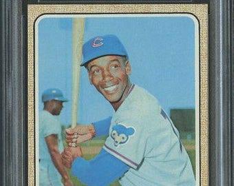 1968 Topps #355 Ernie Banks HOF- PSA 9