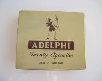 Adelphi Cigarette tin (20/empty) - by George Jackson