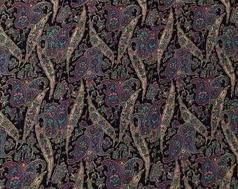 Liberty vintage varuna wool in paisley print
