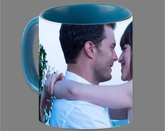 Dakota Johnson Jamie Dornan Coffee Cup Fifty Shades #0008