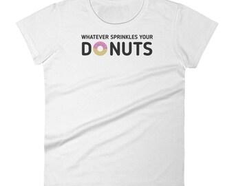 Donut Shirt For Women / Donut Shirt For Girls / Donut T-Shirt For Toddlers / Donut Tshirt For Kids / Donuts T-shirt