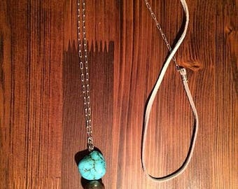 Turquoise Long-necklace