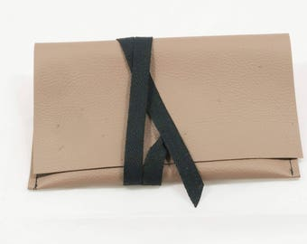 Tobacco Eco-Leather beige