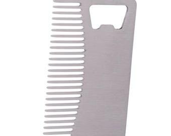 Beard mustache comb