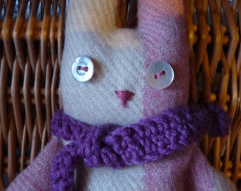 Rosey The Lavender Bunny