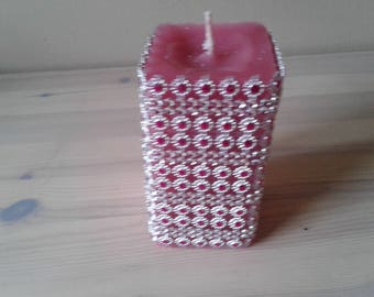 Jewelled candle