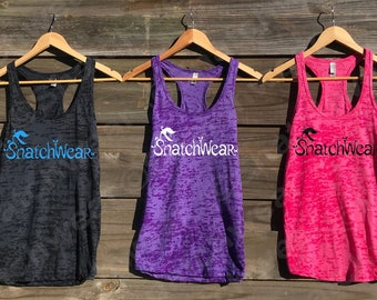 SnatchWear Venus Fly Trap Womens Burnout Tank Activewear