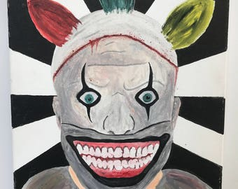 American Horror Story Twisty The Clown Painting