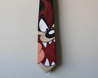 Vintage Looney Tunes Tasmanian Devil Tie