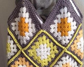 Tote bag handmade crochet