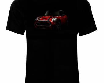 Inspired By Mini John Cooper Works Auto Moto Retro Classic T-Shirt