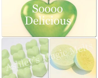 3 dkny be delicious perfume soy wax melts, designer wax melts, strong wax melts, perfume dupes, best wax melts, melt tarts