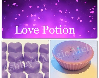 3 love spell perfume soy wax melts, designer perfume dupe, strong wax melts, best wax melts, cheap wax melts, scented gifts, soy wax cubes