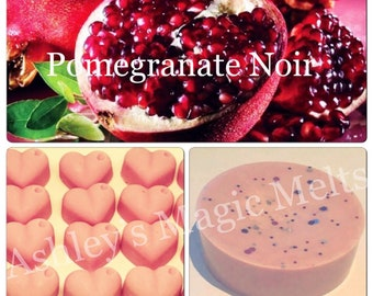 3 pomegranate noir jo malone soy wax melts, strong long lasting scented melts, designer dupe melts, scented gifts for her