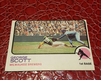 1973 O-Pee-Chee #263 George Scott