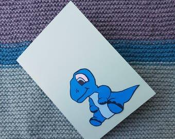 Baby Boy Dinosaur Card