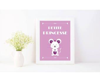 Poster Princess mouse