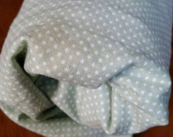 Crib Sheet - Fitted. Baby Nursery, Toddler Bed Sheet/ 100% Cotton.