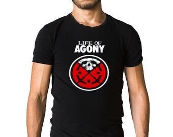 Life Of Agony Logo T-Shirt
