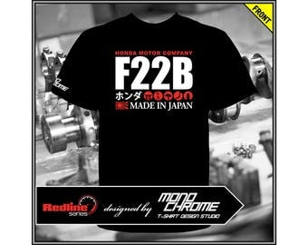T-shirt Honda F22B Prelude BA8 BA9 BB5 BB7 Accord CD7 CE1 CD5