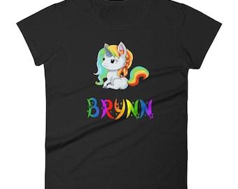 Brynn Unicorn Ladies T-Shirt