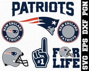 New England Patriots Nfl,SVG File  - png , dxf , eps ,nfl svg, SVG File for Cameo,Cricut files,Silhouette Cut Files,Cricut Cut Files