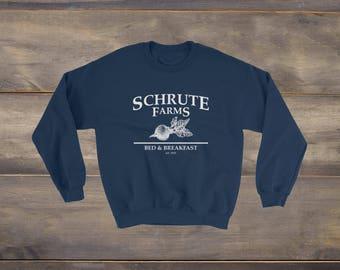 Schrute Farms Sweatshirt, The Office, The Office TV Show, Dwight Schrute, Michael Scott, Jim Halpert, Schrute Farms, Dunder Mifflin