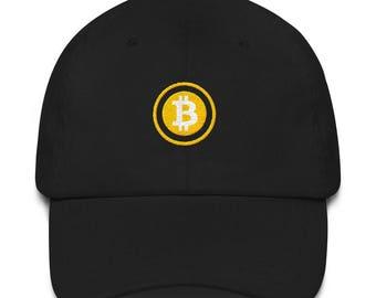 Bitcoin BTC The Satoshi Dad/Baseball Hat