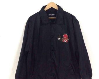 On sale !!!Rare!!! devil bean's long jacket/Devil jacket/ rare yakuza long jacket!!! / Rare sons Devil's