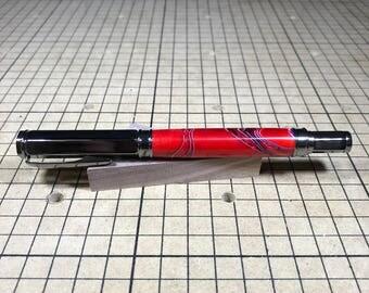 Magnetic Gun Metal Fountain Pen