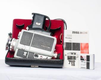 Zeiss Ikon Moviflex Super Standard 8mm cinecam + Accessories