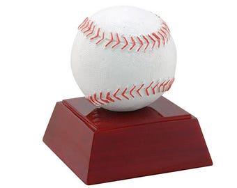 Baseball Color Resin Trophy / Softball Award (RC-402) by DECADE AWARDS