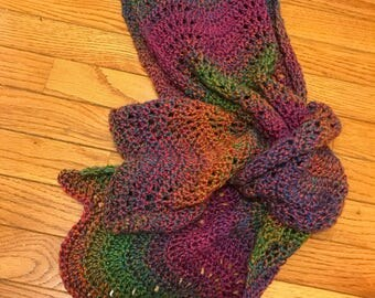 Bright Multicolored Scarf