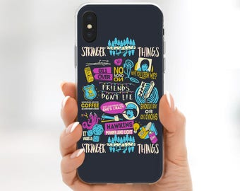 iPhone X Case Stranger Things iPhone 6s case iPhone 7 Plus Stranger Things iPhone 8 plus case Stranger Things tv series iPhone 7 case for S8