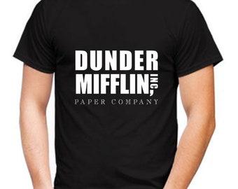 Dunder Mifflin T-Shirt, Dunder Mifflin Shirt, The Office TV Series Shirt, Dunder Mifflin Paper Company Shirt