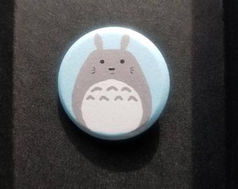 "Totoro 1"" Pin Button"