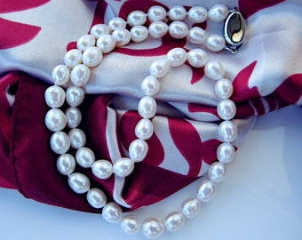 High Lustre Freshwater Pearl Necklace 16 inches