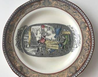 Plato Porcelana Adams