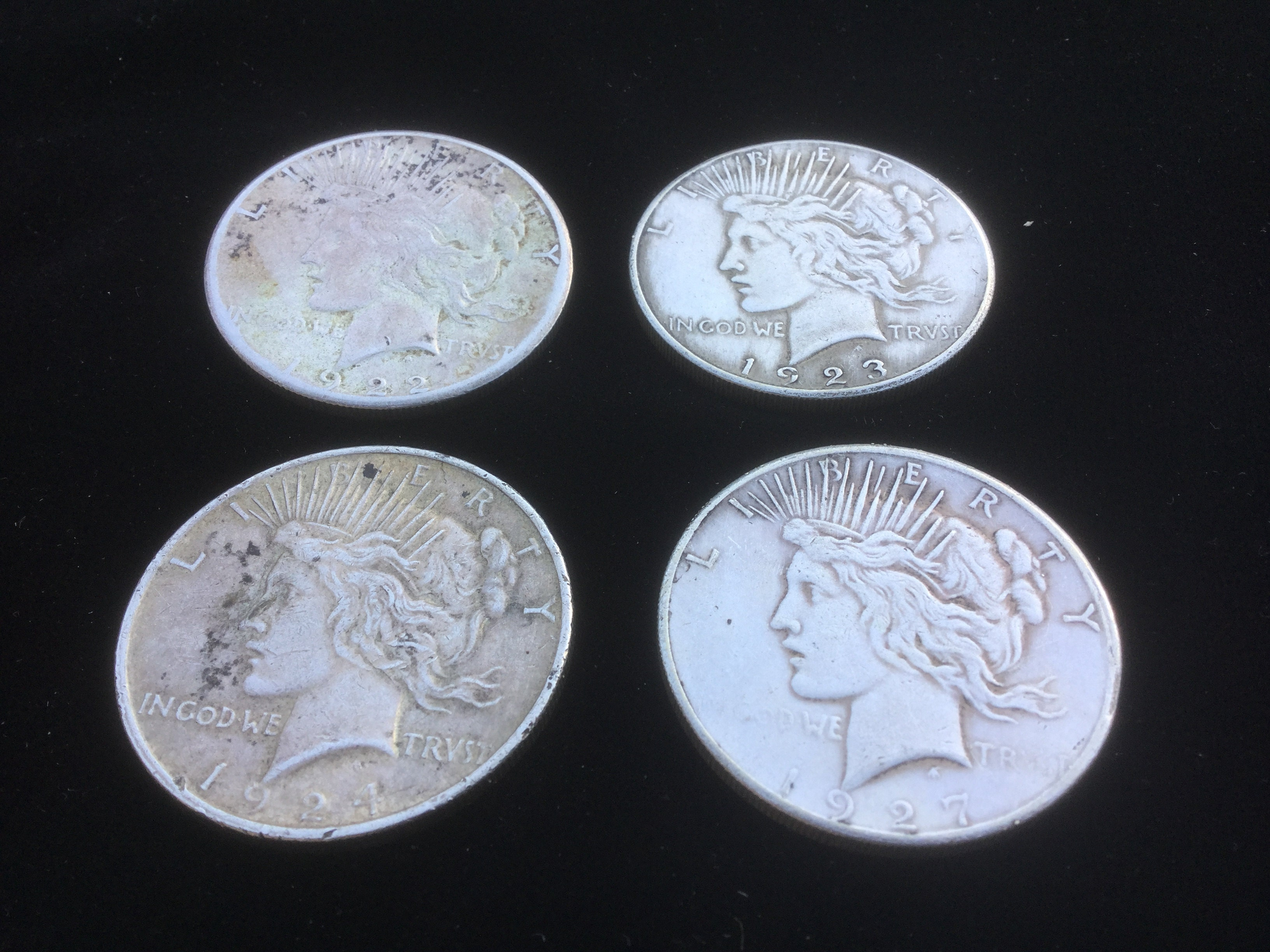 testing fake peace dollars