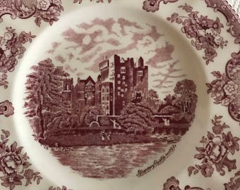 Johnson Brothers Old English Castles Plate