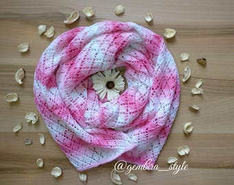 Scarf from cotton, шарф хлопковый