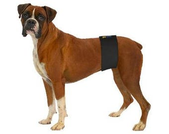 "The Best Male Dog Belly Band On The Market - Size - XL,    Length - 17""-19"",   Width - 4 1/2"""