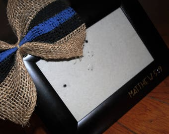 Thin Blue Line frame