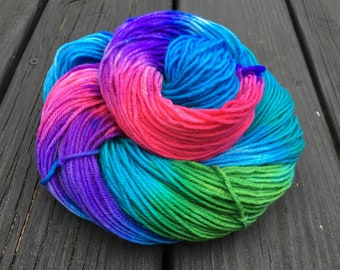 Crown Jewels - Super-Wash Merino & Nylon Hand-dyed DK Weight Yarn